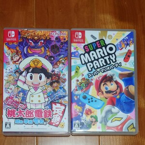 Nintendo Switch 桃太郎電鉄  スーパーマリオパーティ セット
