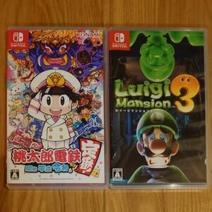 Nintendo Switch 桃太郎電鉄 ルイージマンション3セット