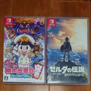 Nintendo Switch 桃太郎電鉄  ゼルダの伝説ブレスオブザワイルド セット