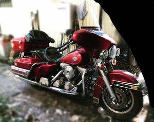Harley-Davidson FLHTC 車体 書類 付き 検 書付き FLHTCU エレクトラ グライド ウルトラ クラシック ハーレー ダビッドソン エボ 80 EVO 赤