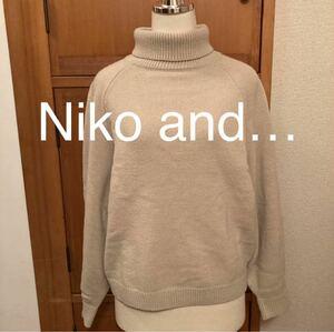 Niko and… ニコアンド ニット セーター タートルネック M 3