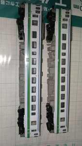【ジャンク】【HO /1:80】マイクロエース キハ40北海道色(M+T)2両セットで (現状渡)(断捨離)