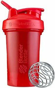 レッド ブレンダーボトル 【日本正規品】 BlenderBottle Classic V2 20オンス (600ml) レッド