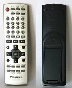 ∮ Panasonic N2QAJB000129 ミニコンポ SC-PM710SD用 リモコン 赤外線発信確認済 SCステレオシステム パナソニック ∮