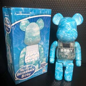 MY FIRST BE@RBRICK B@BY WATER CREST ベアブリック MEDICOM TOY 400% コレクション 置物