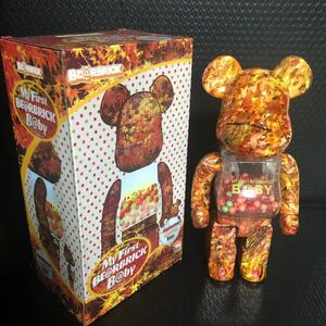 MY FIRST BE@RBRICK B@BY× AUTUMN LEAVES ベアブリック MEDICOM TOY 400% コレクション 置物