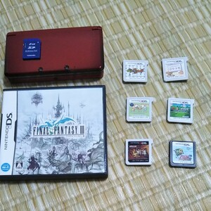 3DS本体  ソフト7本セット