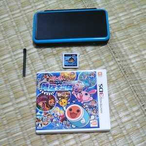 New Nintendo 2DSLL ソフト2本セット
