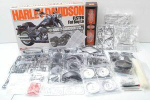 Y666B18I//バイク プラモデル タミヤ TAMIYA ハーレーダビッドソン ファットボーイ 1/6 ビッグスケール★未組立 未開封