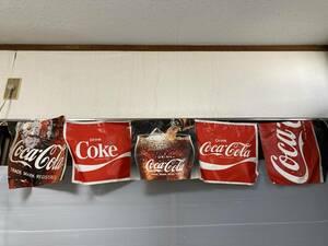 コカ・コーラ 垂れ幕 当時物 海の家 駄菓子屋 昭和レトロ