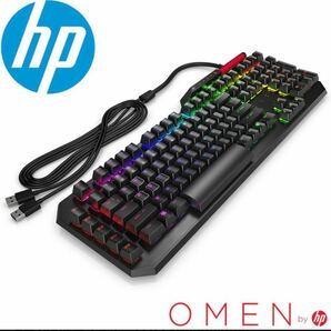 HP OMEN Sequencer 2VN99AA#AB9ゲーミングキーボード新品未開封