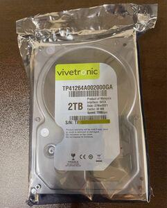 ホワイトラベル HDD 3.5インチ 2TB SATA 7200rpm