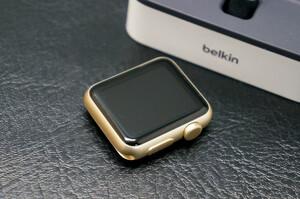 1 иен ~SALE![ Junk специальная цена ] Apple Watch Apple часы 7000 38mm belkin Charge dok комплект