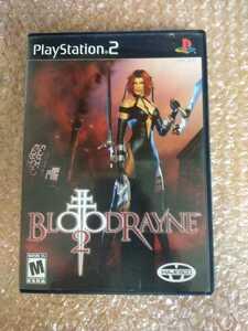 送料無料 日本未発売 PS2ソフト 北米版 BLOODRAYNE2 /PlayStation2 プレステ2 BLOOD RAYNE 2 RAIN ブラッドレイン2 海外版 激レア 即決設定