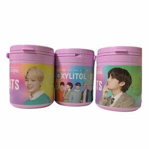 BTS ボトルガム キシリトールガム 3個セット