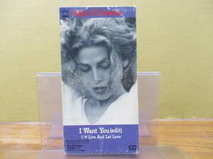 S-1063【8cmシングルCD】ソフィー・B・ホーキンス アイ・ウォント・ユー SOPHIE B. HAWKINS i want you ボブ・ディラン BOB DYLAN カバー