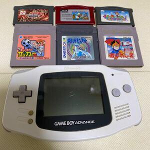 ゲームボーイアドバンス 任天堂 GBA ジャンク品 ソフト付き