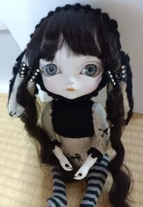 福寿 Toffee blackの髪の子 福寿ドール 創作人形ドール球体関節人形福寿梨理