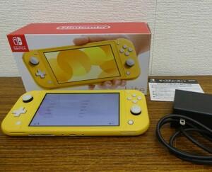 Nintendo Switch Lite ニンテンドースイッチ ライト イエロー 本体 訳有 動作品 激安