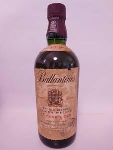 ★古酒☆ バランタイン 17年 4/5quart (760ml) 86proof (43%) ☆送料無料☆ Ballantine's 17 years old ★
