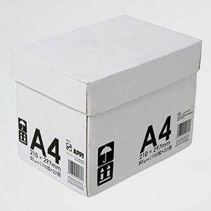 好評 新品 高白色 APP X-PY 2420枚(110枚×22冊) インクジェット用紙 コピ-用紙 高品質マルチ用紙 超高白色 白色度98% A4