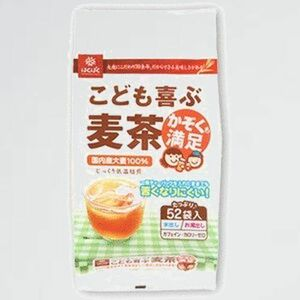 新品 未使用 こども喜ぶ麦茶 はくばく 1-T2 416g (8g×52袋)×3個セット