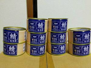 宝幸 国産 さば味噌煮 酒粕仕立て 200g×10個 HOKO 鯖缶