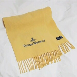 ヴィヴィアンウエストウッド Vivienne Westwood 黄色 カシミア混 ウール