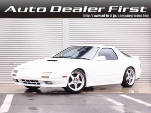 平成2年 マツダ サバンナRX-7 GT-X 新品外装 HDDナビ 車高調 17AW マフラ@車選びドットコム