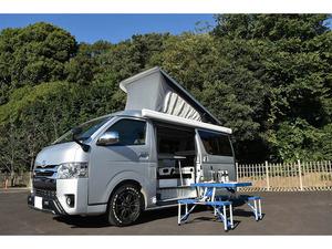 NEWフェイス ポップアップキャンピングカー2段ベット! 冷蔵庫・FFヒーター・シャワーシンク・愛知県@車選びドットコム