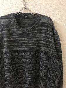 大きなサイズ ヒューゴ ボス HUGO BOSS ウール 霜降り ニット セーター