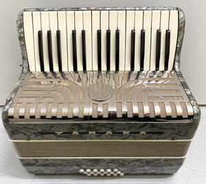 [1727] YAMAHA アコーディオン PAT.NO.384181 鍵盤 楽器 ケース付き 中古品