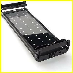 Lightess アクアリウムライト led 水槽 ライト 水槽用 照明 2つ照明モード 30-50CM水槽対応 調節可能長寿命 省エネ 観賞魚 熱帯魚 水草育成