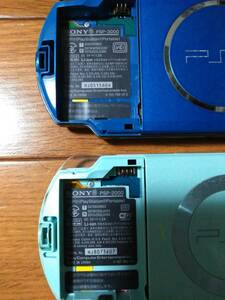 PSP-3000とPSP-2000の本体☆計2台セット☆送料520円(追跡番号あり)ジャンク扱いで。