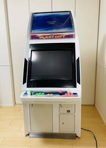 . work free shipping new goods stainless steel navy blue panel attaching service completed washing cleaning settled blast City nanao monitor manual type DIP SEGA arcade case Blast