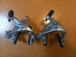 ★SHIMANO シマノ BR-5800 105 シルバー ブレーキセット 美品