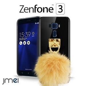 Zenfone3 ZE552KL JMEIオリジナルファーチャームケース キャメル
