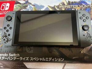 Nintendo Switch 本体 モンスターハンターライズ スペシャルエディション スイッチ