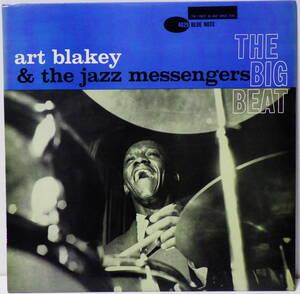 米国盤 ART BLAKEY & THE JAZZ MESSENGERS THE BIG BEAT 47 WEST 63RD DG RVG EAR BLUE NOTE BLP 4029 MADE IN USA