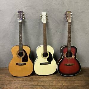 (Gt-ke)【直接引取限定(横浜)】アコギ クラシックギター 3本まとめ売り ジャンク 『TOKYO GUITAR, Shima, Headway HCL-28 STR』(BST2)