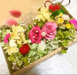 不思議の森Rose Garden*ハーバリウム花材ドライフラワー 花材セット