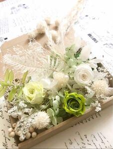 ブライダルホワイトグリーン*花材詰め合わせ