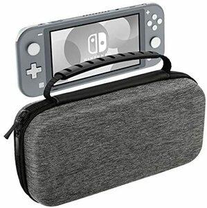 ★カラー:Gray★ Nintendo Switch Lite ケース ATiC ニンテンドー スイッチライト キャリングケース 収納バッグ EVA素材 耐衝撃 全面保護