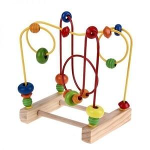 新品 数学計数ビーズそろばんワイヤー迷路ローラーコースター xiu0712 赤ちゃん 木のおもちゃ 幼児 ED26