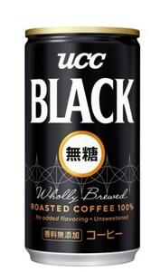 UCC ブラック無糖 缶(185g*30本入) 2セット