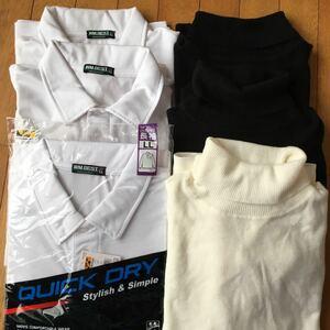 メンズ タートルセーター&ポロシャツ 6枚