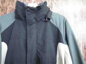 難あり コロンビア マウンテンパーカー ジャケット メンズ XLサイズ columbia convert 防寒 アウトドア ジャンバー ブルゾン 中古 古着