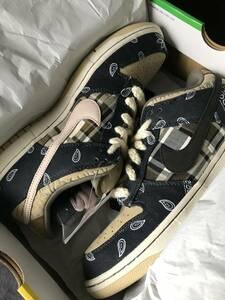 <新品>Nike SB x Travis Scott Dunk Low OG QS 2020 - Size 11 (返品OK)
