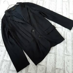 ラピスルーチェ パー ビームス LAPIS LUCE PER BEAMS スウェット ジャケット 黒 ブラック