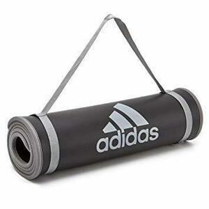 ブラック adidas(アディダス)ヨガ&ストレッチ トレーニング用マット フィットネス ヨガ ピラティス エクササイズ